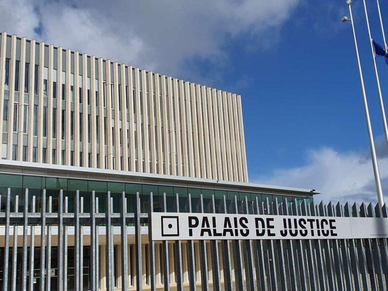 Photo du Palais de justice de Caen